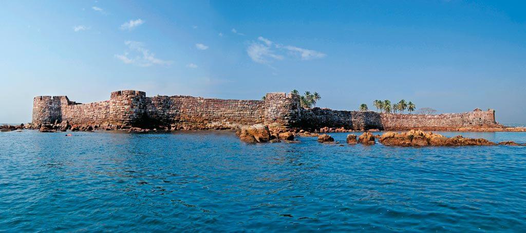 sindhudurg fort malvan killa कोकणातील काही प्रसिद्ध किल्ले